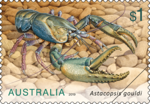 Lobster stamp